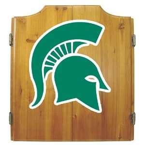 Michigan State University Spartans Dart Cabinet Sports