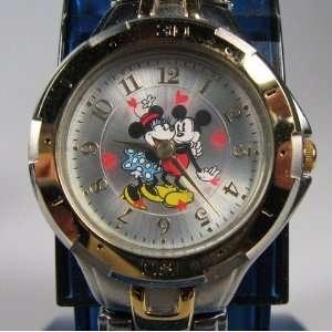 Walt Disney MICKEY MOUSE NEW Ladies Watch 2Tone W9A4