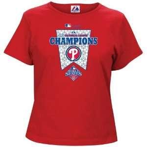 MLB National League Champions Official Locker Room T shirt Sports