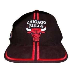 NBA Chicago Bulls Snapback Cotton Hat Cap   Black: Sports