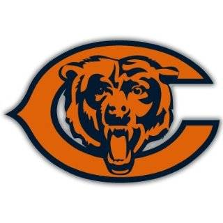 Chicago Bears NFL Football car bumper sticker 5 x 4