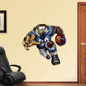 NFL Seattle Seahawks Sinister Seahawk Vinyl Wall Graphic Decal Sticker