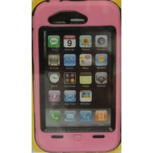 OtterBox Defender iPhone Case 3G S 3GS Pink On Black Cell