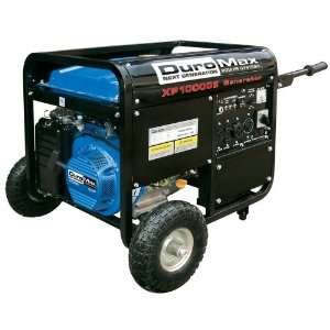 Cycle Gas Powered Portable Generator With Wheel Kit And Electric Start