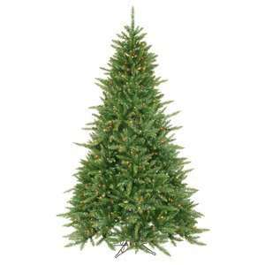 7.5 Pre Lit Virginia Fir Christmas Tree   Multi Color