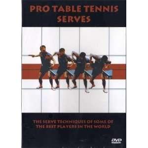 Pro Table Tennis Serves DVD 140 Serves /29 best players