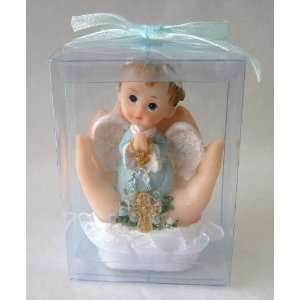 Top of Hands Statue Religious Gift Boxed Party Favors CR046W BL: Baby