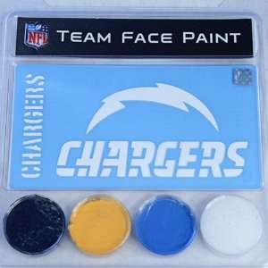 San Diego Chargers Team Face Paint