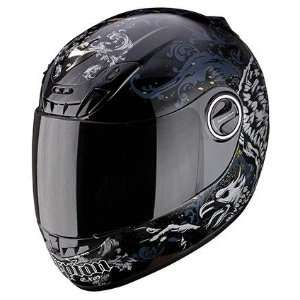 Scorpion EXO 400 Graphics Helmet Black Large 40 1035