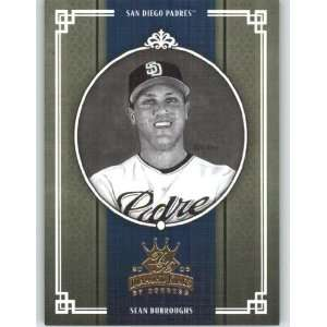 Kings B/W #185 Sean Burroughs   San Diego Padres (Black and White