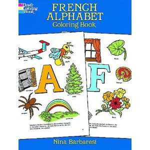 French Alphabet Coloring Book (Dover Coloring Book