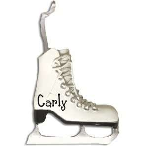 Personalized Ice Skate Ornament: Home & Kitchen