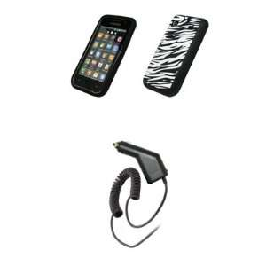 Soft Silicone Gel Skin Cover Case + Rapid Car Charger for Samsung