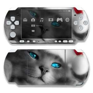 Sony PSP 1000 Skin Decal Sticker  Christmas Kitty Cat