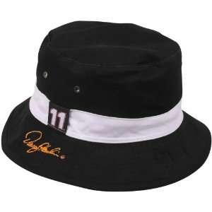Hamlin Black White Angler Reversible Bucket Hat