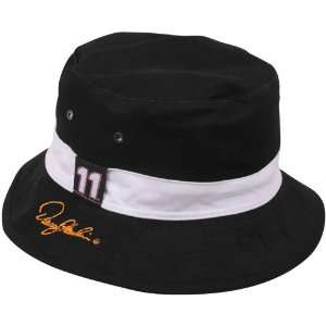 Hamlin Black White Angler Reversible Bucket Hat Sports & Outdoors