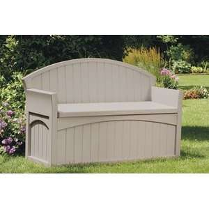 Patio Bench With Storage Patio, Lawn & Garden