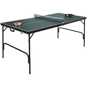 Spartan Portable Mini Table Tennis   Green