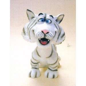 White Tiger Bobble Head Toys & Games