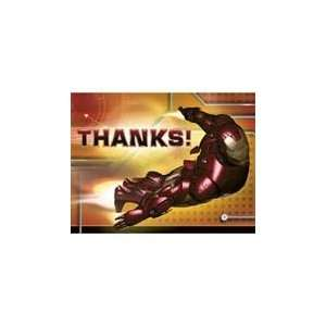 Iron Man Thank You Cards(8 Counts) Toys & Games