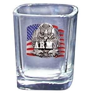 United States Army Set of 4 Shot Glasses