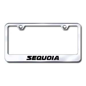 Toyota Sequoia Engraved Stainless Steel License Plate Frame