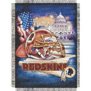 Washington Redskins NFL Woven Tapestry Throw (Home Field Advantage) (4