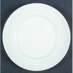 Williams Sonoma Brasserie White Dinner Plate, Fine China Dinnerware
