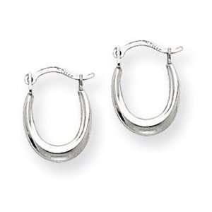 14k Gold White Gold Mini Hoop Earrings Jewelry