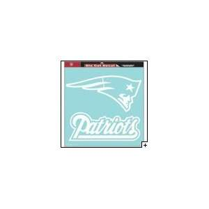 England Patriots Nfl 18X18 Die Cut Decal Wincraft