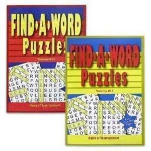 Puzzle Book 96 Pages Find A Word Case Pack 96 Everything