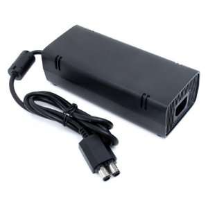 Official Microsoft Xbox 360 SLIM Power Supply AC Adapter (110V Only)