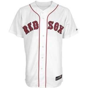 Jersey  Majestic Boston Red Sox Youth White Replica Baseball Jersey