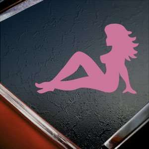Mudflap Girl Pink Decal Car Truck Bumper Window Pink
