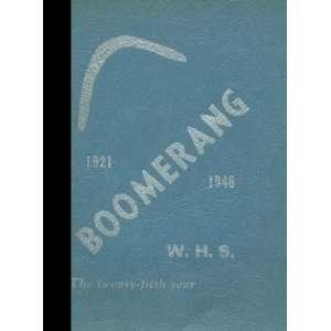 (Reprint) 1946 Yearbook Winterset High School, Winterset