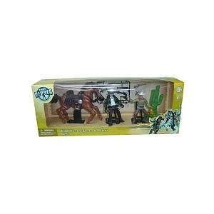 True Heroes Wild West Action Figures and Horse  Toys & Games