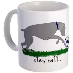 Weimaraner Play Ball Sports Mug by  Kitchen