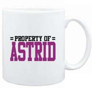Mug White  Property of Astrid  Female Names