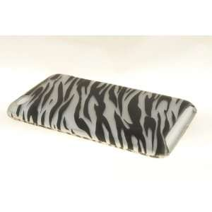 Apple iPod Touch 4 Hard Case Cover for BK/SV Zebra