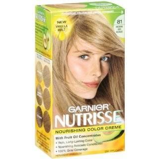 Garnier Nutrisse Haircolor, 91 Light Ash Blonde Ginger Ale Beauty