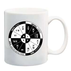 OHMS LAW Mug Coffee Cup 11 oz