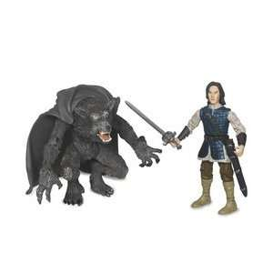 75 Deluxe Figures   Werewolf and Prince Caspian: Toys & Games