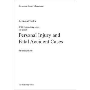 Accident Cases (9780115601460): Great Britain: Government Actuarys