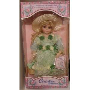 Christina Collection Porcelain Doll by Christina Verdi  Toys & Games