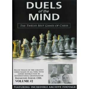 Duels of the Mind The Twelve Best Games of Chess Vol. 2 Toys & Games