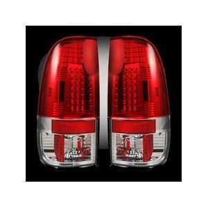 Red Lens LED Tail Lights Automotive