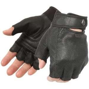 Pokerun Easy Rider 2.0 Mens Fingerless Gloves Black XXL 2XL 6822 3505