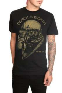 Black Sabbath Death Mask Slim Fit T Shirt Clothing