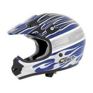 Helmets Visor   UX 31C , Color Blue/White/Silver, Style Blaze 640173