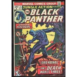 Black Panther, v1 #11. Sep 1974 [Comic Book] Marvel (Comic) Books
